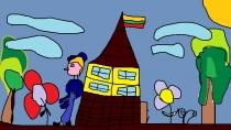 """""""Mano sodintas sodelis"""" Karolis Lidikauskas, 4 klasė, Užvenčio Šatrijos Raganos gimnazija"""