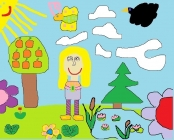 """""""Didžiuojuosi savo gimtine, gėlėmis puošiu"""" Linėja Paplauskaitė, 2 klasė, Ukmergės r. Želvos gimnazija"""