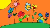 """""""Auginu ir laistau gražias gėles"""" Ernesta Kulevičiūtė, 4 klasė, Užvenčio Šatrijos Raganos gimnazija"""