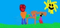 """""""Bus draugiškas, su visais draugaus"""" Benediktas, 1 klasė, Kauno r. Kačerginės mokykla-daugiafunkcis centras"""