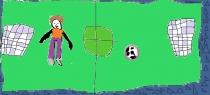 """""""Moku žaisti futbolą"""" Adomas, 1 klasė, Radviliškio r. Šeduvos gimnazija"""