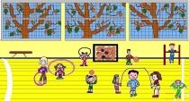 """""""Olimpinė savaitė mokykloje"""" G. A., 2 klasė, Kalvarijos sav. Jungėnų pagrindinė mokykla"""