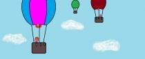 """Svajoju skristi oro balionu"" Bernadeta Stanaitytė, 3 klasė, Vilniaus ""Ryto"" progimnazija"