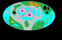 "Lukas Vincevčius 3 kl. ""Apgyvendinta planetos sala"" VšĮ International Meridian school"
