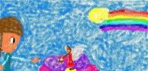 """""""Vaivorykštės fėjos"""" Akvilė Vincevičiūtė, 3 klasė, Kauno Bernardo Brazdžionio mokykla - daugiafunkcis centras"""