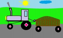 """""""Važinėju traktorium"""" Arnas Monkus, 1 klasė, Kalvarijos sav. Jungėnų pagrindinė mokykla"""