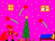"""Eitvydas Klimas4 kl. """"Kalėdų paslaptis"""" Naujosios Akmenės m-d """"Buratinas"""""""