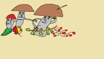"""""""Grybai, grybai baravykai"""" Emilis Norgaila, 3 klasė, Šilalės raj. Kaltinėnų Aleksandro stulginskio gimnazija"""