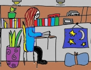 """Aš skaitau"" Olivija, 4 klasė, Radviliškio Vinco Kudirkos progimnazija"