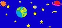 """Gedas Žiromskis4 kl. """"Mūsų kosmosas ir Žemė"""" Sidabravo vid. mokykla"""