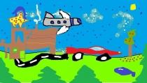 """""""Svajonė turėti nuosavą lėktuvą, mašiną ir puikius namus"""", Tadas Matuolis, 3 klasė, Ukmergės r. Želvos gimnazija"""