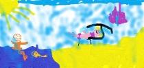 """""""Renkuosiu poilsį prie jūros"""" Lėja, 1 klasė, Kauno r. Kačerginės mokykla-daugiafunkcis centras"""