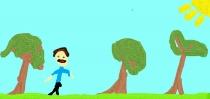 """""""Mėgstu vaikščioti miške"""" Germantas, 1 klasė, Kauno r. Kačerginės mokykla-daugiafunkcis centras"""