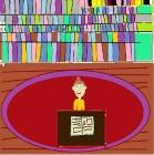 """""""Mėgstu eiti į biblioteką"""" Samanta, 4 klasė, Radviliškio Vinco Kudirkos progimnazija"""