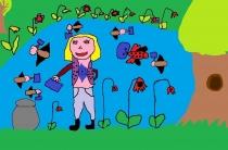 """Tėviškėlė bus švari, jei aš dirbsiu, netingėsiu"" Brigita Bareišytė, 2 klasė, Ukmergės r. Želvos gimnazija"