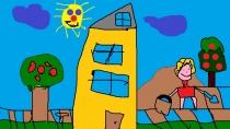 """""""Parsinešiu smėlio, pastatysiu pilį"""" Laisvydas Smekajevas, 4 klasė, Užvenčio Šatrijos Raganos gimnazija"""