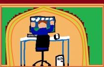 """""""Kompiuterių pasaulyje"""" E. K., 4 klasė, Radviliškio r. Šeduvos gimnazija"""