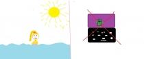 """""""Aš renkuosi jūrą, o tu?"""" Elija, 3 klasė, Klaipėdos r. Endriejavo pagrindinė mokykla"""