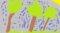"""""""Mano medžiai"""" Viltė Kazlauskaitė, 1 klasė, Šiaulių rajono Gruzdžių gimnazija"""