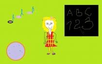 """""""Diena mokykloje"""" A. B., 1 klasė, Radviliškio Vinco Kudirkos progimnazija"""
