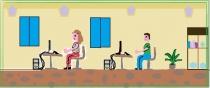 """""""Kompiuterių būrelis"""" Gertrūda Burbulytė, 4 klasė, Radviliškio r. Šeduvos gimnazija"""