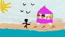 """""""Renkuosi prie jūros ledus"""" Donatas, 1 klasė, Kretingos rajono Salantų gimnazija"""