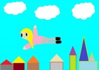 """""""Aš noriu skraidyti"""" Emilija Neimanaitė, 4 klasė, Užvenčio Šatrijos Raganos gimnazija"""