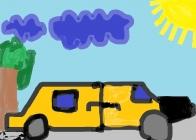 """""""Aš - automobilio vairuotojas"""" Armandas Lisenkovas, 1 klasė, Užvenčio Šatrijos Raganos gimnazija"""