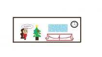 """""""Jau greitai Šv. Kalėdos!"""" Gabrielė, 3 klasė, Kauno Aleksandro Puškino gimnazija"""