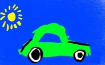 """""""Saulės baterija varomas automobilis"""" Tomas, 3 klasė, Kaišiadorių r. Žiežmarių mokykla-darželis """"Vaikystės dvaras"""""""