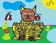 """""""Mano svajonė - turėti katytę"""" Linėja Paplauskaitė, 3 klasė, Ukmergės r. Želvos gimnazija"""