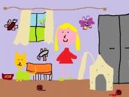 """""""Nusprendėm įsigyti katinėlį"""" Vanesa, 2 klasė, Ukmergės r. Želvos gimnazija"""